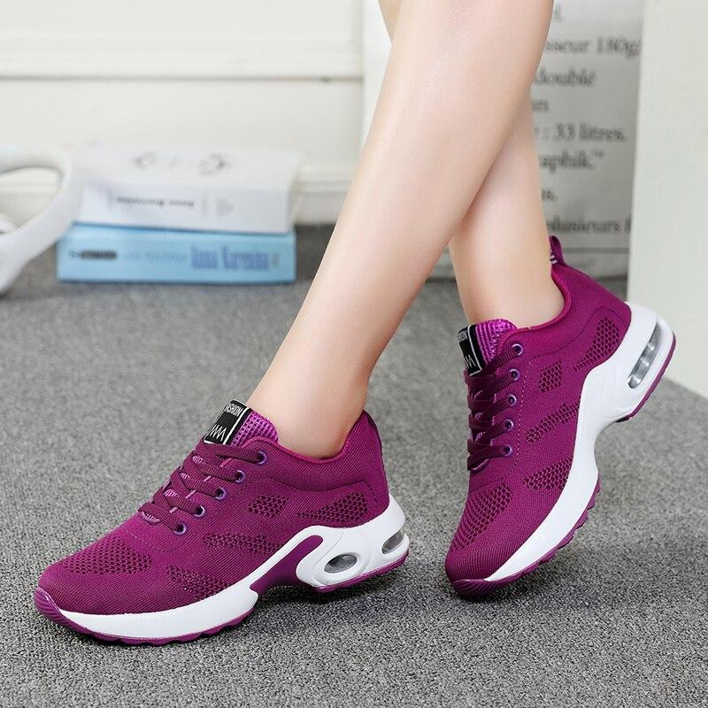 Gran tamaño 42 nuevo Otoño Invierno zapatillas para correr para mujer calzado deportivo para mujer Zapatillas deportivas al aire libre zapatillas mujer