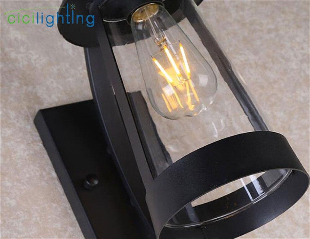 moderno vidro claro sombra lampada parede 02