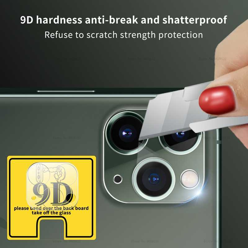 Arka kamera Lens koruyucu Film iPhone 11 Pro Max temperli cam koruyucu için iPhone 11 Pro Max 11Pro cam arka Lens filmi