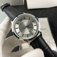 Armani- Luxury Brand women quartz Watches men Watch Leather strap wristwatch classic watch father gift 342 orders