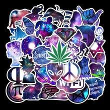 Autocollant diamant étoile série Original, 35 pièces, WiFi étoile, boîte de voyage de personnalité, Skateboard, guitare, Graffiti, TZ139G