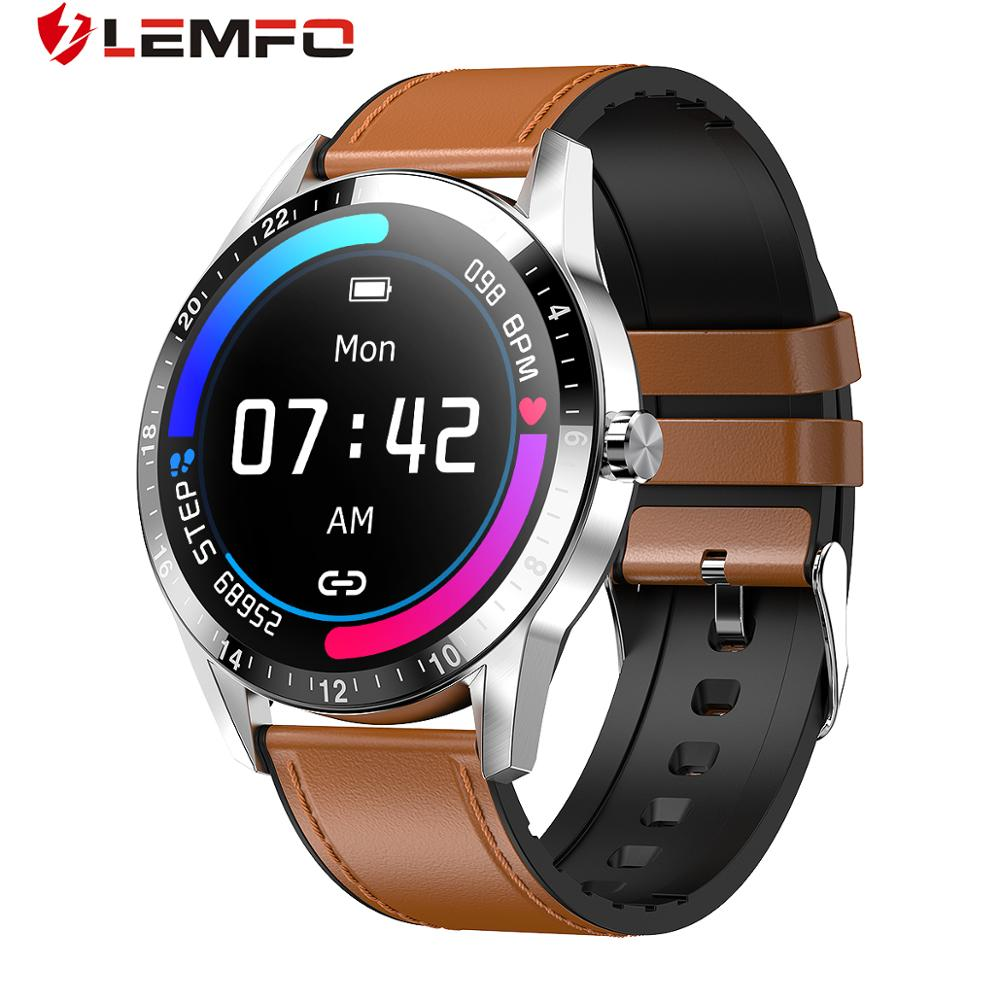 LEMFO G20 Smart Watch Men Business Style Support Bluetooth Call Heart Rate Monitor Full Touch Smartwatch For Android IOS Phone