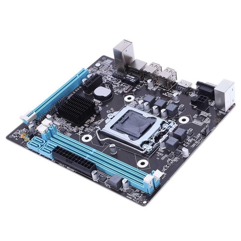 プロフェッショナルマザーボード HM55 LGA 1156 DDR3 RAM USB 2.0 ボードサポートコア I3 I5 I7 クワッド Cpu デュアルチャンネルデスクトップコンピュータ Mainb