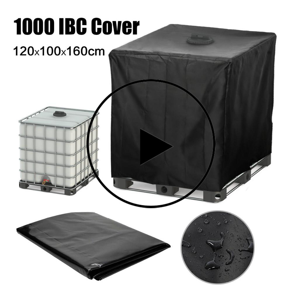 Water Opslag Tank Cover, Ton Vat Cover Regen Water Cover Voor 1000 L Ibc Container,water Opslag Emmer Waterdichte Cover