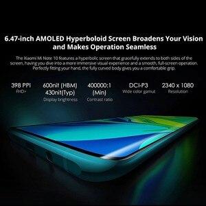 Image 4 - Globale Version Xiaomi Mi Hinweis 10 6GB RAM 128GB ROM Smartphone 5260mAh Batterie 108MP Hinten Kamera Schnell ladung Smart Handy