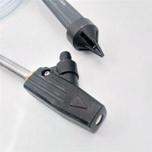 Image 4 - LaLeyenda boquilla de cerámica para chorro de arena en húmedo + rosca macho para Karcher/Lavor/Nilfisk/G1/4, arandela de presión del coche, pistola de chorro de arena
