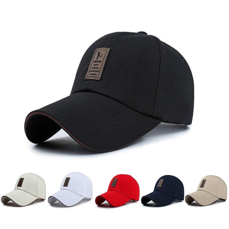 Men's Snapback   Caps   Summer Adjustable   Baseball     Caps   for Men New Cotton Casual Sports Hats Women Fashion Boy Hat   Caps