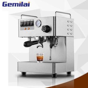 Image 1 - Полностью автоматическая кофемашина для эспрессо, 3000 Вт, 15 бар, Паровая кофеварка для итальянского кофе с давлением, кофемашина