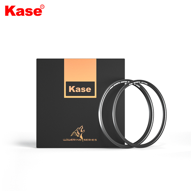 Kase Male Thread Magnetic Ring + Female Thread Magnetic Ring kit, the Thread Filter is Upgraded to a Magnetic Filter 1