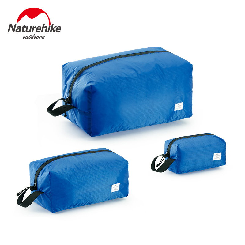 Naturehike 3 Pcs Travel Organizer Bag Waterproof Clothes Pouch Portable Storage Case Luggage Suitcase Outdoor Reception Bag