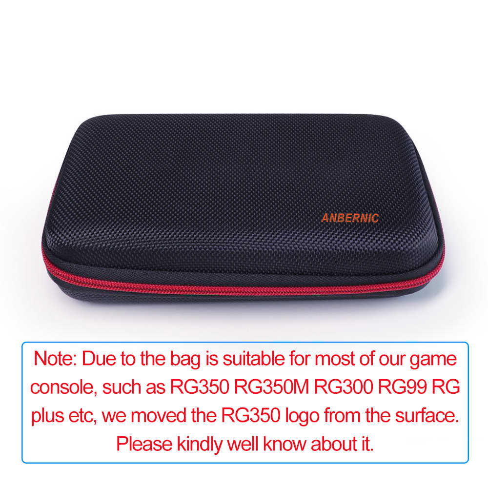 Nuovo Caso ANBERNIC RG350 RG350M Borsa di Protezione per il Retro Game RG350P RG300 Palmare Giocatore Console Portatile Accessorio Della Copertura Borsette