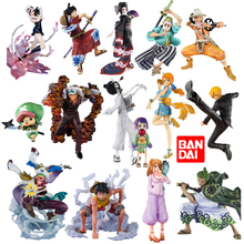 Bandai One Piece Figure Figuarts ZERO Gear Fourth Monkey D Luffy Chopper Usopp Nami Nico Robin Sanji Roronoa Zoro ABS Model Toys