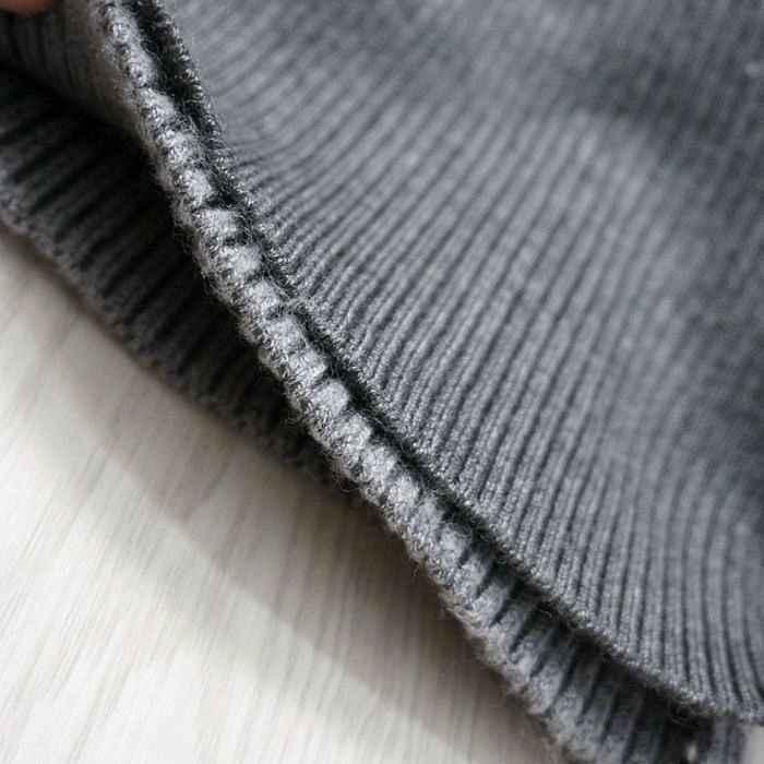 2020 nuove donne di inverno abiti maglione sottile Dolcevita lungo lavorato a maglia vestito bodycon sexy fessura del lato aperto abito abito LX553