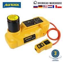 AUTOOL – cric de levage hydraulique pour automobile, 5 tonnes, 12V, pour démontage et réparation de pneus