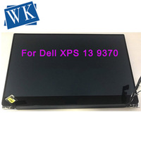 Dell xps 13 13.3 led lcd 터치 스크린 조립품 fhd uhd 용 기존 9370
