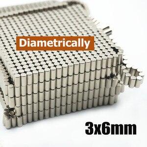 222pcs/444pcs/500pcs 3*6 Diametrically Magnet 3 x 6 mm Rods for Catan-Style Board Settlers Silver Metal NdFeB(China)