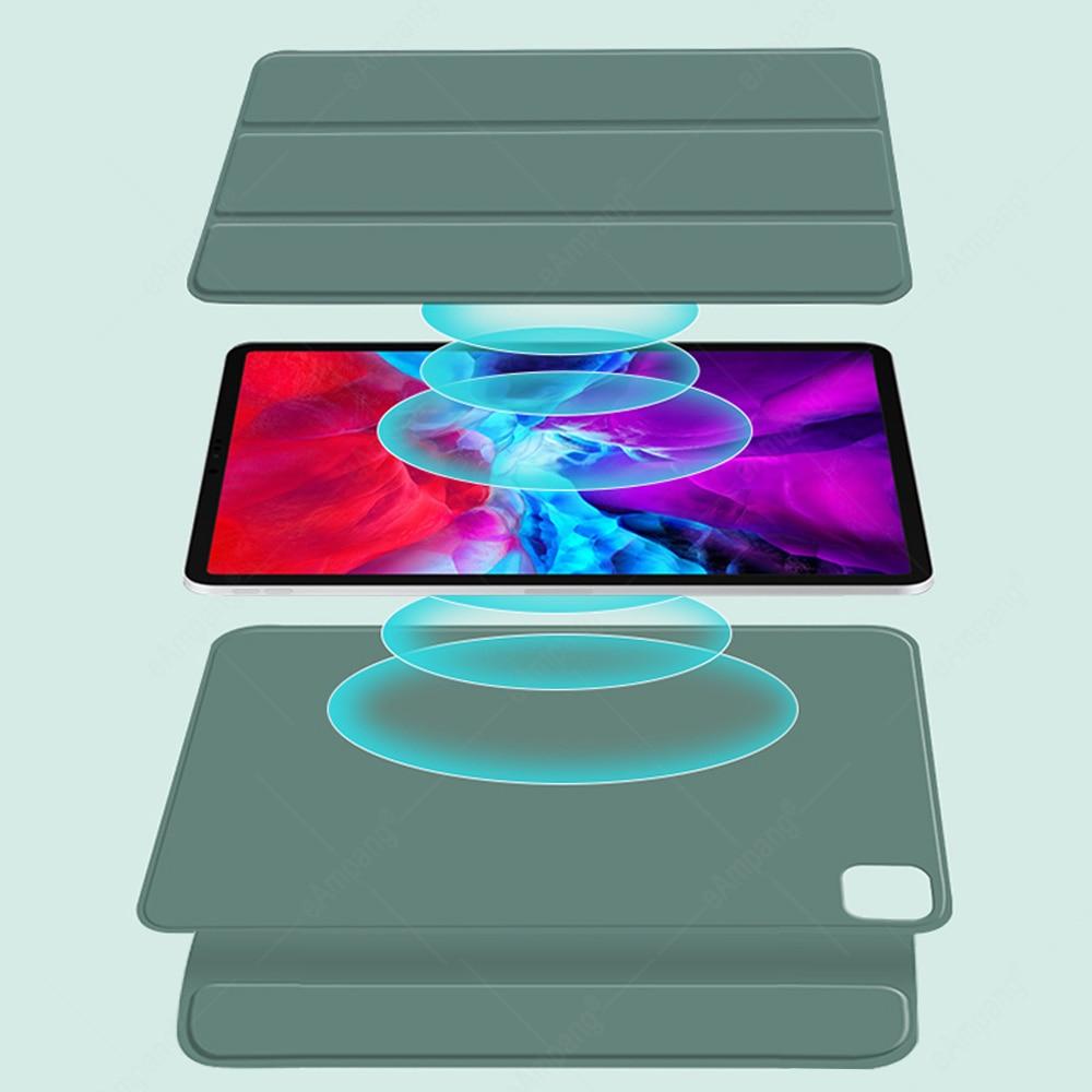 Russian A2460 Thai Magnetic iPad 2020 Case A2459 A2301 2018 2021 Pro For Case Keyboard Trackpad Magic Keyboard 11 Spanish Korean