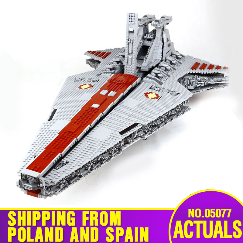 DHL 05077 Star Toys Wars The Lepining UCS ST04 Star Republic Cruiser Assembly Building Blocks Bricks Kids Christmas Toys Gifts