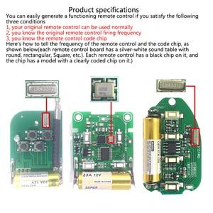 Image 2 - Universal 433MHz Remote Control Wireless 2 Button For Gate Garage Door Keychain Duplicator 2 Keys RF Remote Controller Latest
