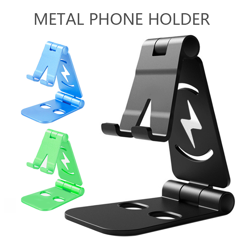 Universal Adjustable Mobile Phone Holder For IPhone Huawei Xiaomi Samsung ABS Desktop Phone Stand Tablet Fixed Desktop TSLM1