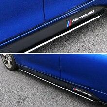 Autocollants de corps à rayures pour jupe latérale de Performance, pour BMW E90 E92 F20 F21 F30 F31 F32 F33 F34 F15 F16 F10 F01 F11 F02 G30 M
