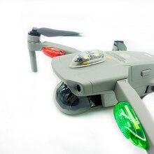 La nuit clignotant fort lumineux sans fil longue Distance lampe LED lumières pour DJI Mavic Mini Air 2 Pro étincelle fantôme Inspire Drones