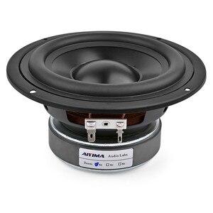 5,25 дюймовый сабвуфер, динамик для домашнего кинотеатра, автомобильный аудио басовый динамик, 4 8 Ом, 50 Вт, высокая мощность, Hifi Звук, громкий д...