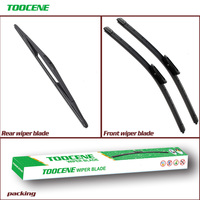 Front and Rear Wiper  Blade For Renault Scenic 1996-2003 Windshield  Rubber Brush Car Accessories 24+16+16