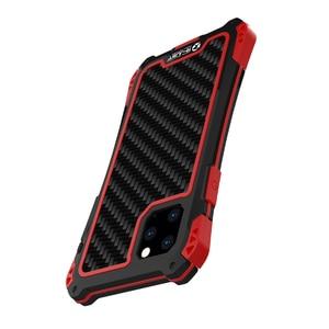 Image 3 - עמירה עמיד למים עמיד הלם טלפון מקרה עבור Iphone 11 11 פרו Iphone 11 פרו מקס סיבי פחמן כיסוי היברידי עומס כבד מוקשח שריון