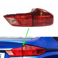Tail Light For Honda City 2015 2016 2017 2018 Car Rear Tail Lamp Turning Signal Brake Lamp Warning Bumper Light