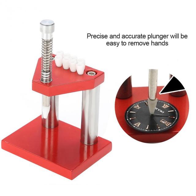 Profesyonel güvenli izle el piston çektirme sökücü seti kol onarım aracı izle parçaları aracı saatçi aksesuarları aracı