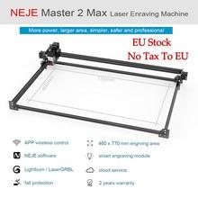 2021 NEJE Master 2S Max 460x810mm profesjonalna laserowa maszyna grawerująca, wycinarka laserowa-Lightburn-kontrola aplikacji Bluetooth