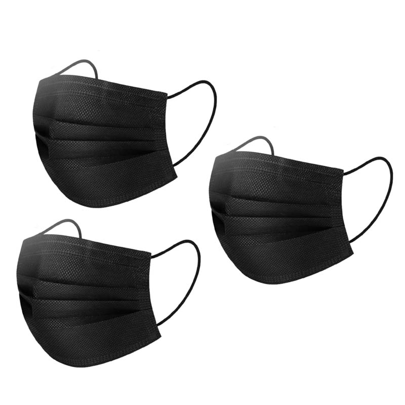 50 Pieces Elastic Earhook Dust Disposable Face Masks
