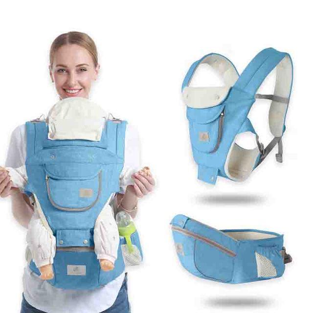 Gabesy Baby Carrier Ergonomica Carrier Zaino Seggiolino Da Anca Hipseat per il neonato e prevenire o-tipo gambe fionda bambino Canguri 3