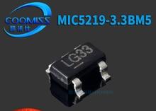 Xinyuan 10 PÇS/LOTE MIC5219-3.3BM5 SOT23 MIC5219-3.3 LG33 MIC5219 SOT 3.3V SMD