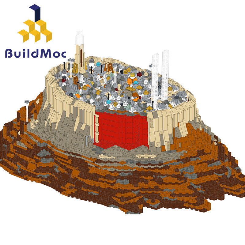 New-Ship-Wars-MOC-18916-The-Empire-Over-Jedha-City-By-Onecase-Star-Cruise-Blocks miniature 6