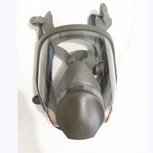 6800 Large View Full Gas Mask Full Facepiece Respirator Painting Spraying Silicone Mask free shipping