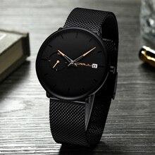 Черные наручные часы женские часы люксовый бренд бизнес нержавеющая сталь женские наручные часы для женщин часы женские наручные часы