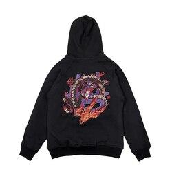 WOOKONG MERK Gedrukt Hoodies Sweatshirts Heren Fleece Mode Hip Hop Hoody Heren Sweatshirt Nieuwe Merk Mannen Lange mouwen Hoodie