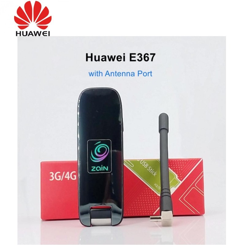 Free Shipping Huawei E367 With Antenna Dongle Mobile Broadband HSPA+ 4G USB Modem 28.8Mbps For Windows7 OS