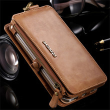 Floveme Leather Case Voor Samsung Galaxy S20 Ultra S10 S9 S8 Plus S7 S6 Rand Rits Portemonnee Cover Voor Samsung note 20 10 9 8 Etui