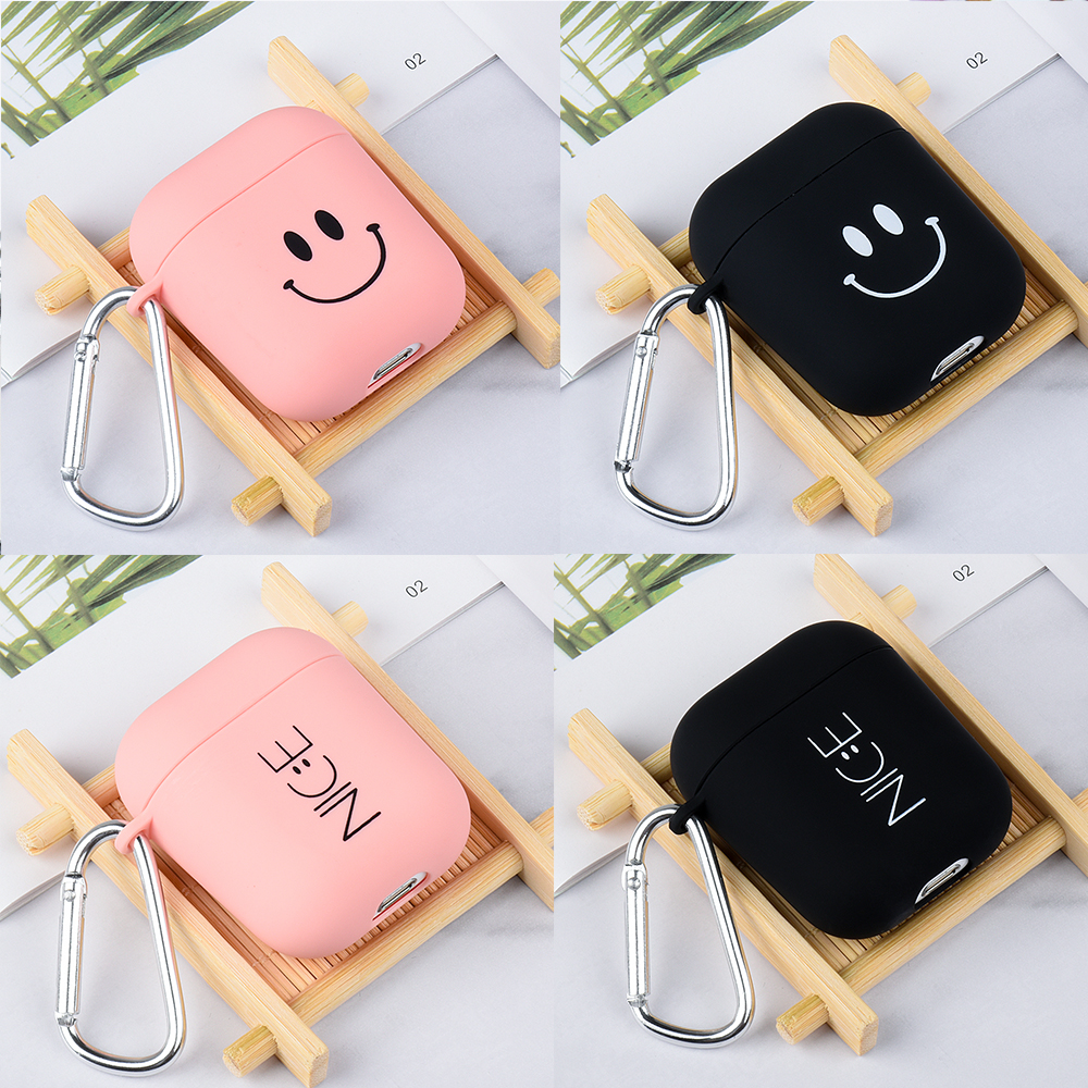 Case For Apple Airpods 2 1 Couple Earphones Box Case For Airpods Air Pods 2 Wireless Bluetooth Earphone Charging Box Cover Cases