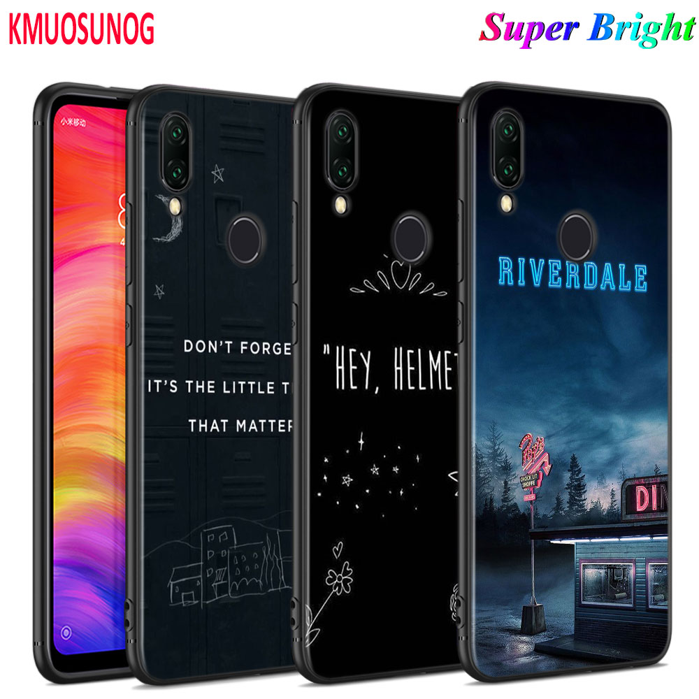 Black Silicone Cover <font><b>13</b></font> <font><b>Reasons</b></font> <font><b>Why</b></font> for Xiaomi Redmi Note 8 7 6 5 4X 4 K20 Pro 7A 6A 6 S2 5A Plus <font><b>Phone</b></font> <font><b>Case</b></font> image