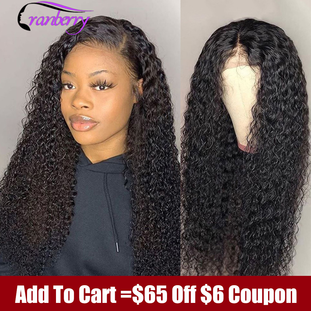 Peruvian Water Wave Wig 13*4 Lace Front Human Hair Wigs Pre Plucked Natural Hairline Cranberry Hair 150% Density Remy Hair Wigs
