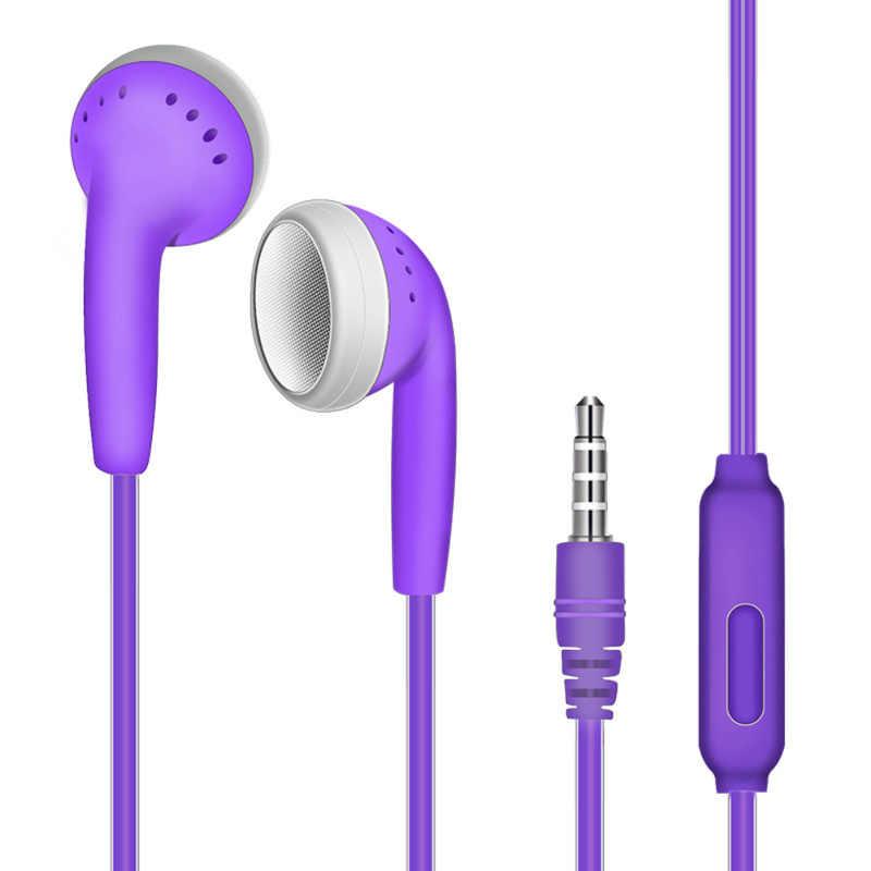 インイヤホンアクセサリー耳栓サブウーファー小麦イヤホン有線インライン音声ヘッドセット iphone huawei 社