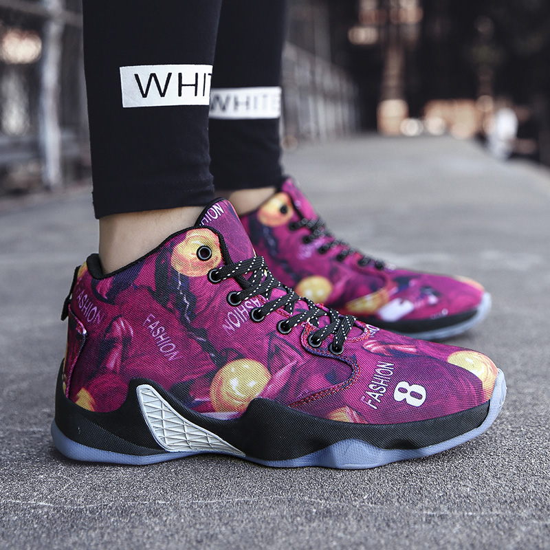 Cushioning Basketball Shoes Men Ankle boots Comfortable Training Playing  High top Sport Shoes Mens Sneakers Street Basketball|Basketball Shoes| |  - title=