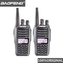 2個baofeng UV B5トランシーバー99チャンネル双方向ラジオuhf vhf長距離ハンドヘルドfm hfトランシーバアマチュア無線ラジオcomunicador