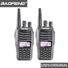 2 pièces Baofeng UV B5 talkie walkie 99 canaux Radio bidirectionnelle UHF VHF longue portée émetteur récepteur FM HF