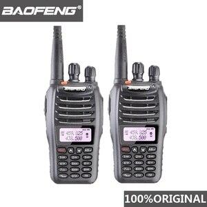 Image 1 - Bộ 2 Bộ Đàm Baofeng UV B5 Bộ Đàm 99 Kênh 2 Chiều Radio UHF VHF Tầm Xa Cầm Tay FM HF Thu Phát Hàm đài Phát Thanh Comunicador