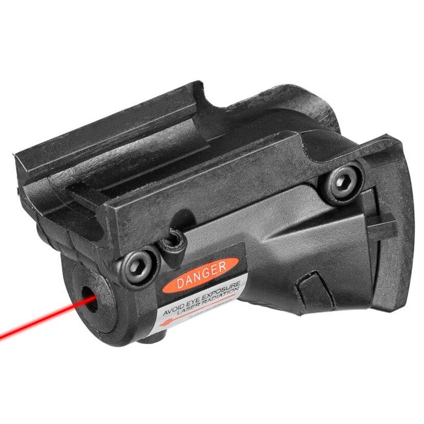 Тактический охотничий красный точечный лазерный прицел красный лазер для винтовки Glock 19 23 22 17 21 37 31 20 34 35 37 38 KXS04004